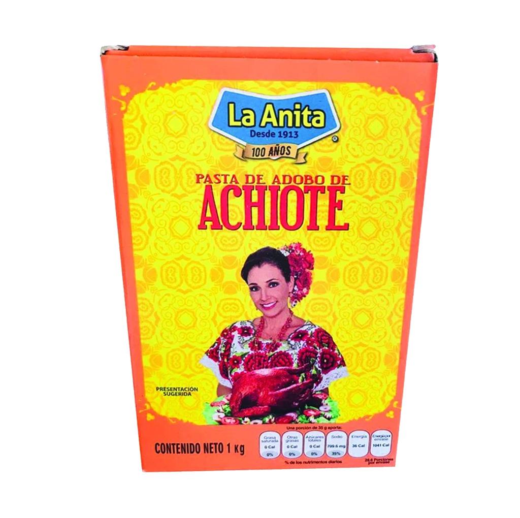 Pasta de Adobo de Achiote La Anita - La Tienda de Clemente
