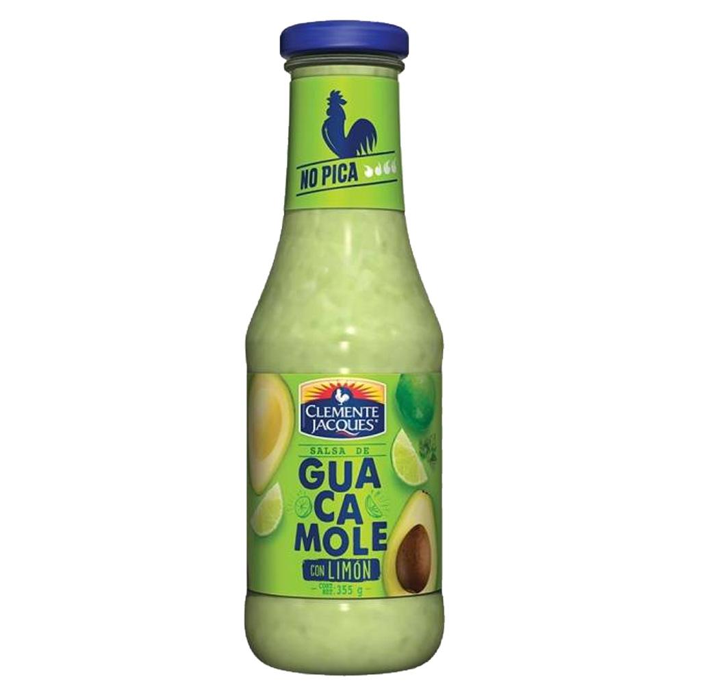 Salsa de Guacamole con Limón Clemente Jacques